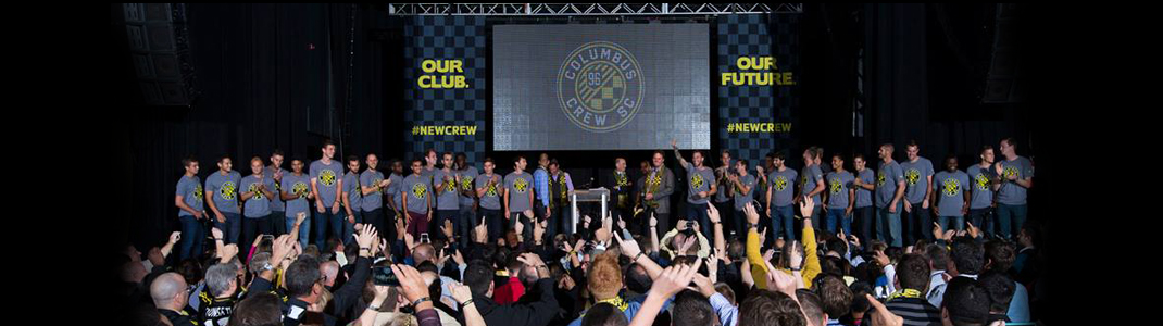 columbus crew event screen display