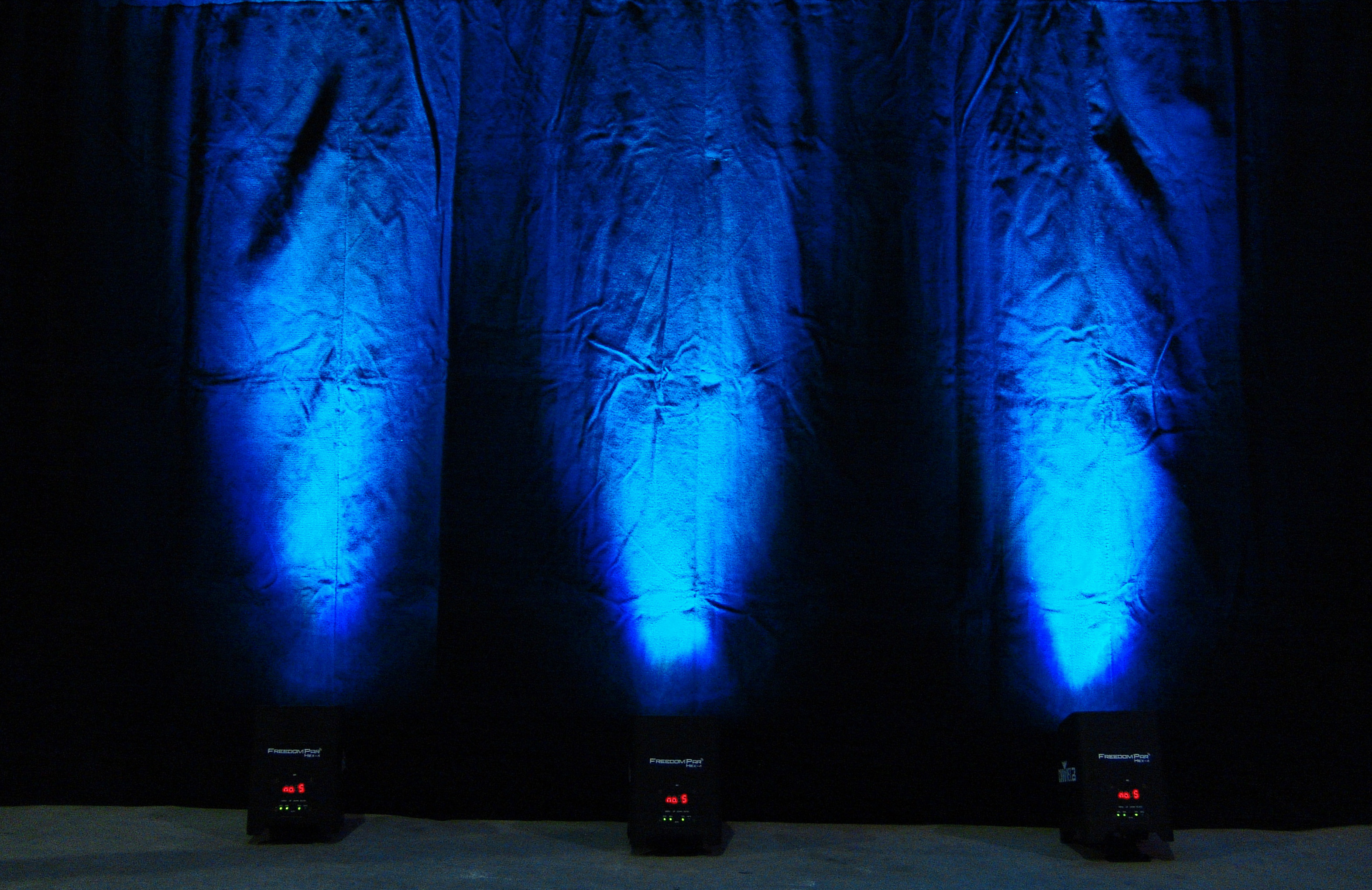LED Lighting and color mixing with Chauvet