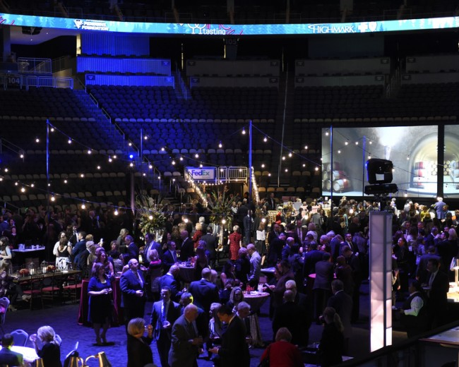 January 19, 2016 - Pittsburgh Penguins Foundation Wine Tasting Gala at the Consol Energy Center sponsored by Highmark