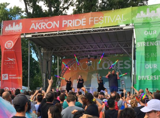 Akron PRIDE 2018 Aug 20 2018 job #C0515542 2