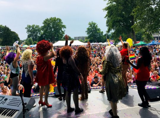 Drag Queens Akron PRIDE 2018